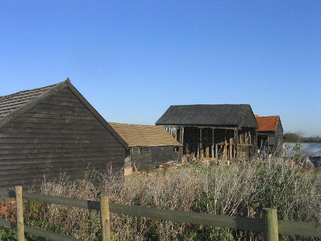 Derelict Barns, High Ongar, Essex