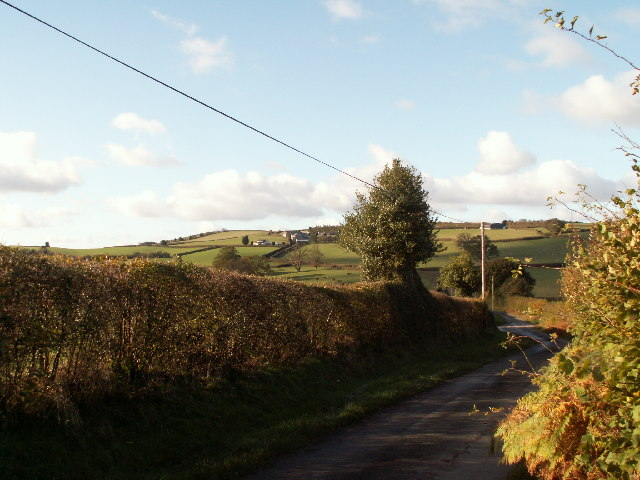 Looking towards Tyle Mawr