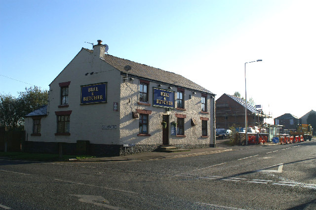 The Bull & Butcher, at Dangerous Corner, Westleigh