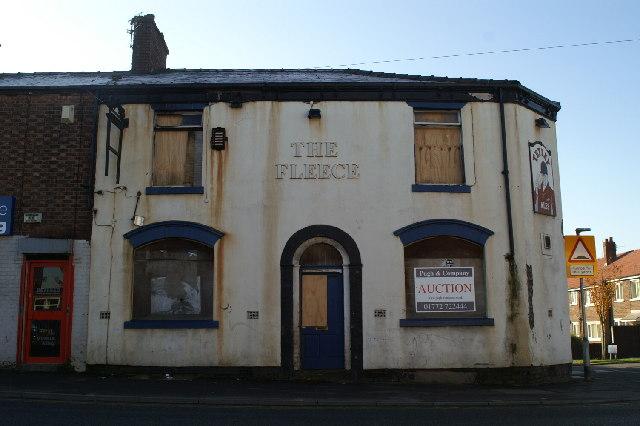 The Fleece pub, Westleigh Lane, Leigh