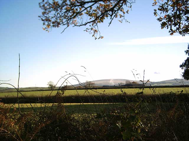 Farmland near Hill Farm.