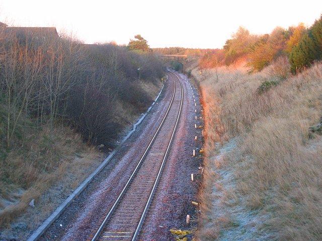 Edinburgh - Bathgate railway.