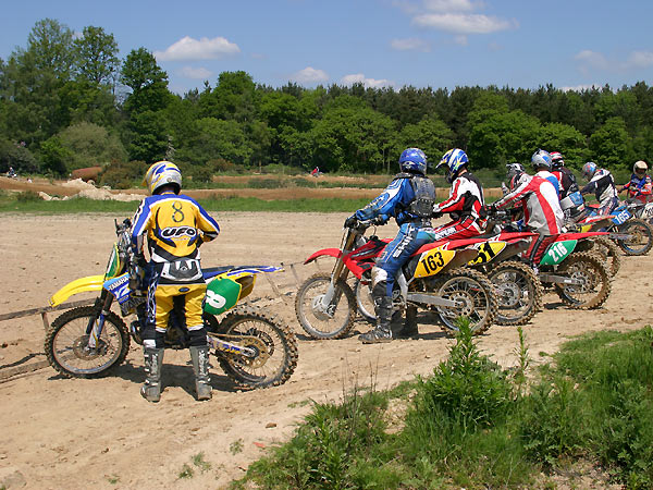Motocross track near to Horsham, West Sussex