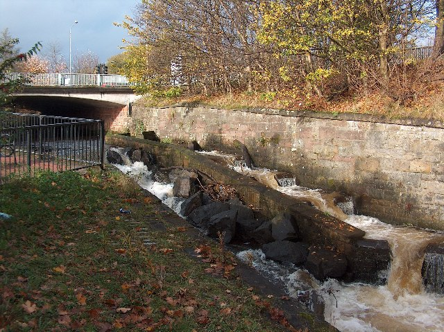 Gavin's Mill Fish Pass, Milngavie
