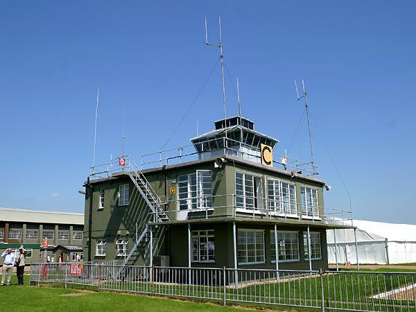 Control tower at RAF Duxford