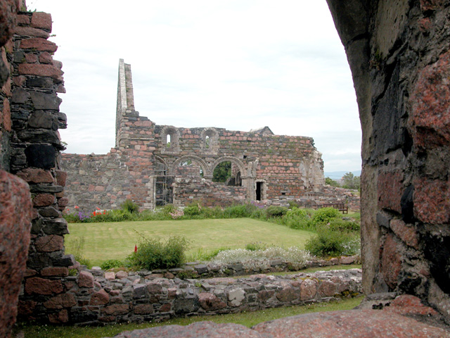 Remains of Nunnery, Iona