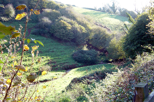 Lower Longcombe valley