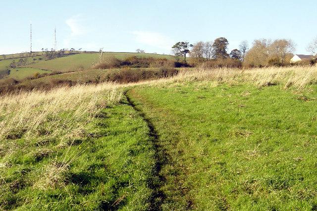 Footpath near Naptor