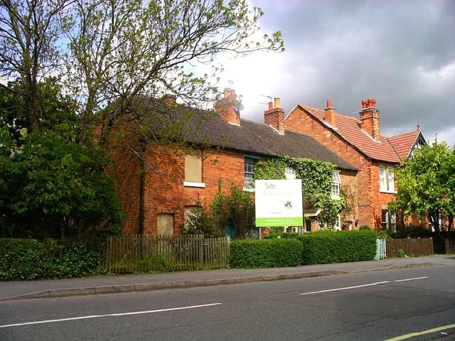 Row of Cottages on Station Road, Mickleover