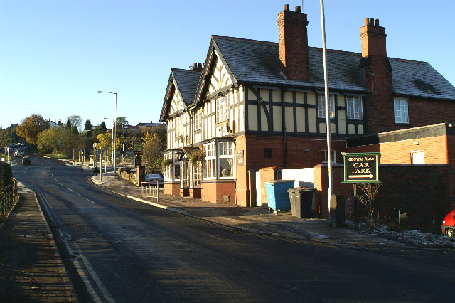 Ridgway Arms, A6, B5238, Blackrod