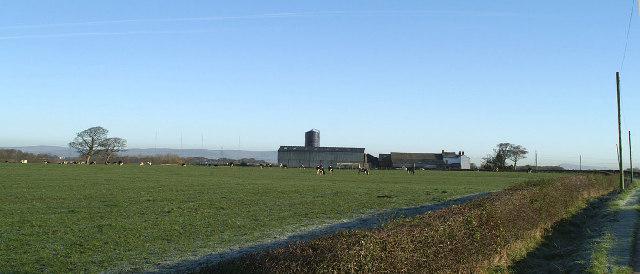 Pasture Barn, farm near M55