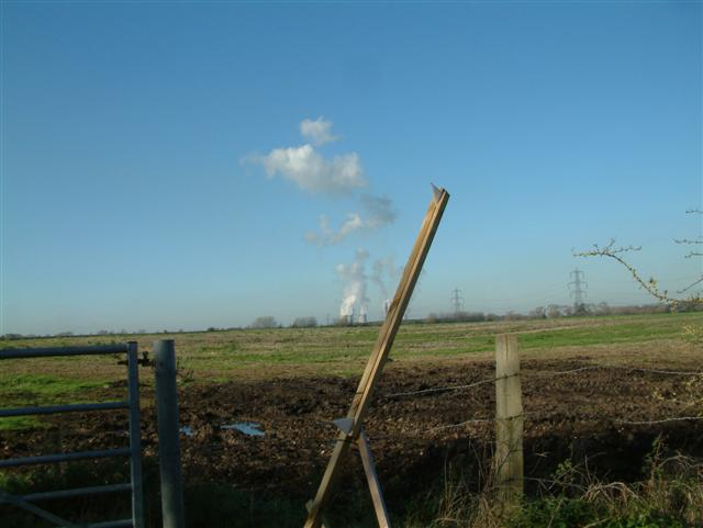 Looking West towards Didcot