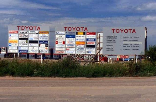 Toyota Car Factory, Burnaston, Derby