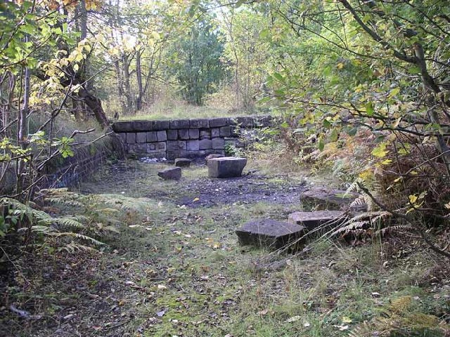Remains of Breadsall Railway Station