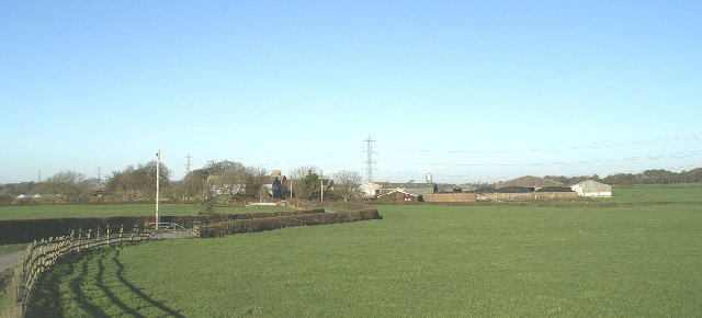 White Carr Farm &amp; Kennels, north of M55