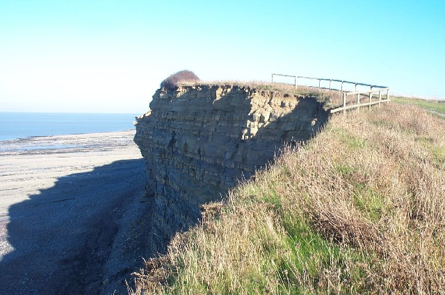 Cliff between Kilve and Lilstock