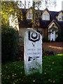 TL4351 : Milestone on London Road by David Gruar