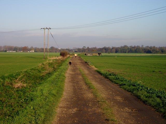 Track near Barrington
