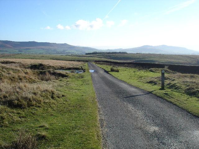Lane at Boss Moor