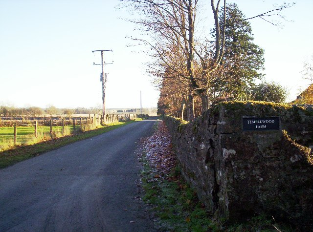 Farm Track to Templewood