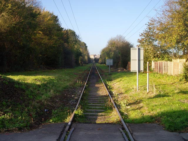 Railway line to Barrington Cement Works