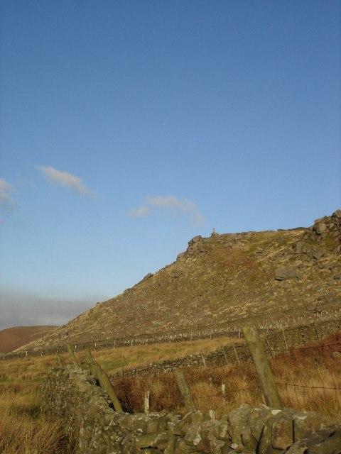 Cross above Rylstone Fell