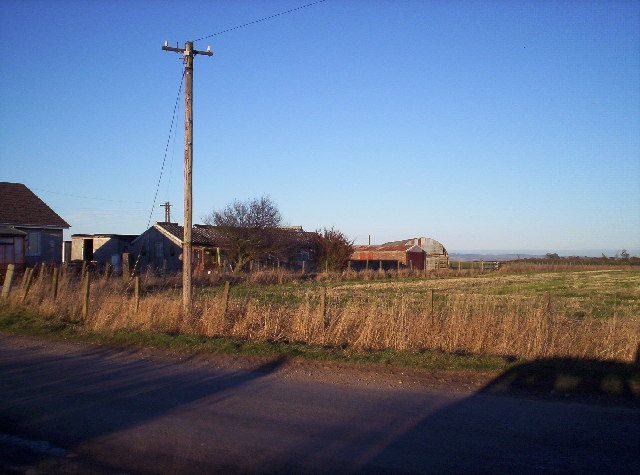 Cottages and RAF buildings