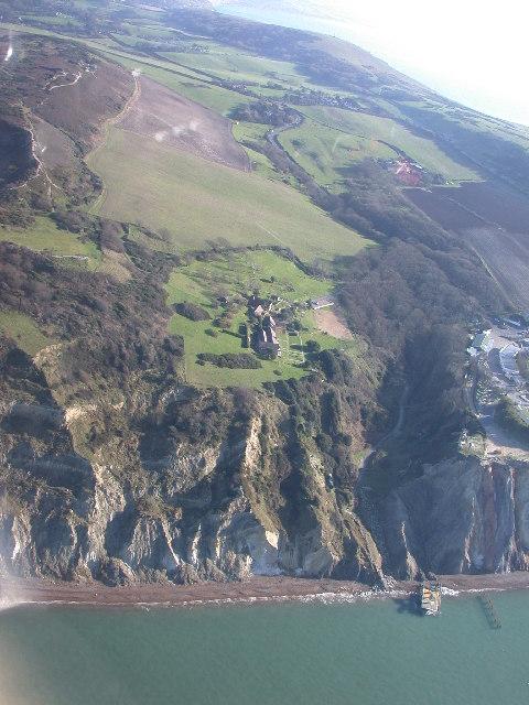 Headon Warren and Alum Bay cliffs