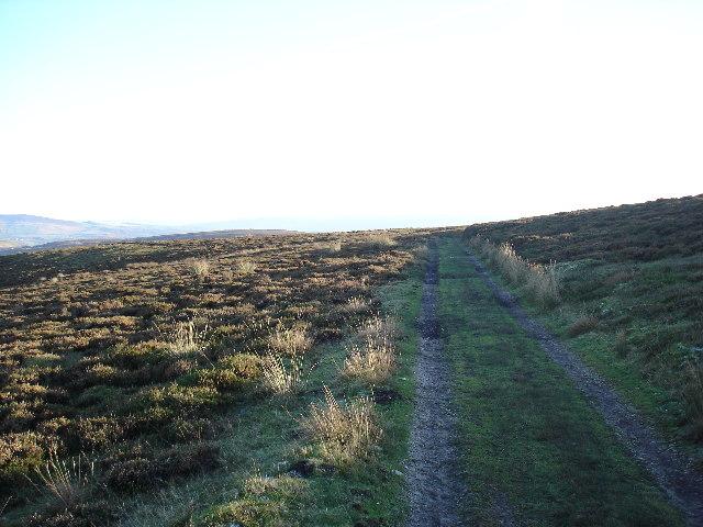 Bridleway near Hut Crag