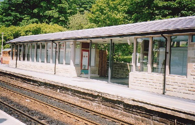 The new ticket office at Horsforth station