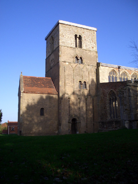 Church of St. Peter - The Saxon Tower