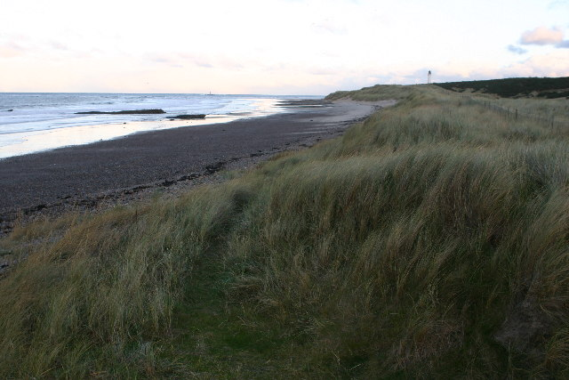 Beach near Covesea