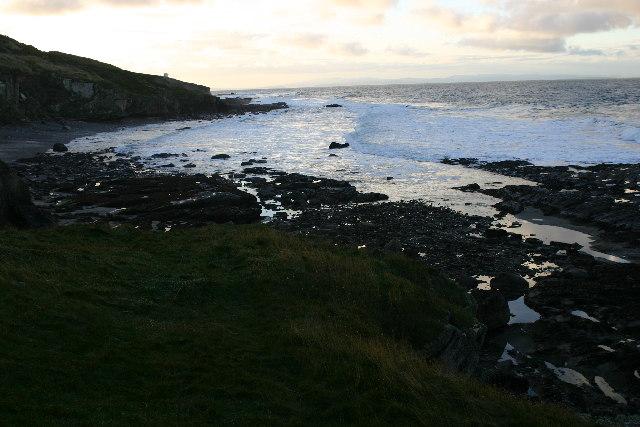 Shore near Covesea