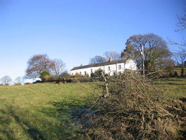 Unnamed farm on fellside.