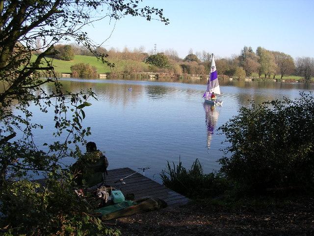Southern lake at Stanborough