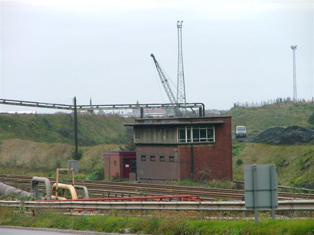 Signal Box, M'boro to Redcar Railway