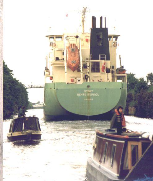 Ship Canal Centenary Fleet at Knutsford Road, 1994
