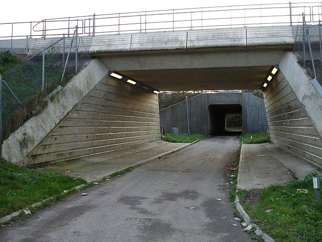 Crismill Lane underpasses