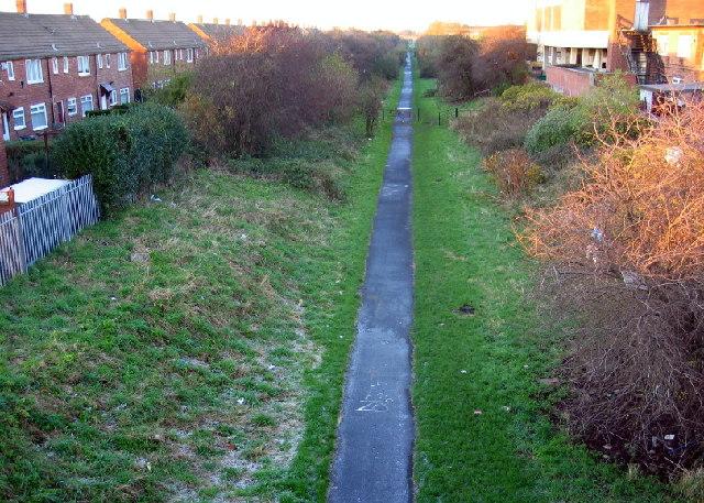 Footpath, Whiteleas