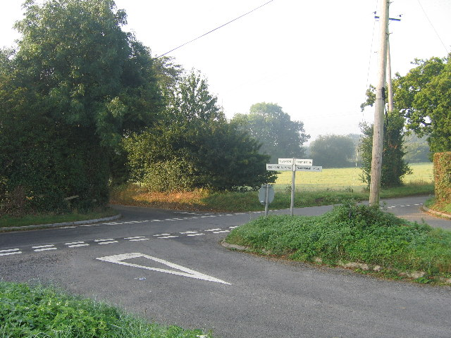 Crossroads near Bramerton