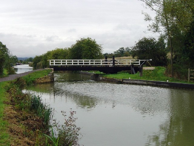 Rusty Lane Swing Bridge looking to the East