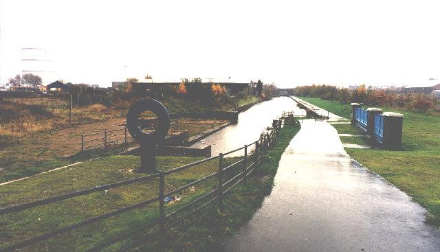 Restored Sankey Canal, Standish Street