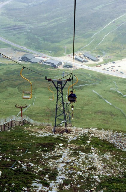 The Cairnwell chair lift