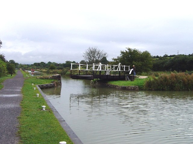 Sells Green Swing Bridge looking to the east