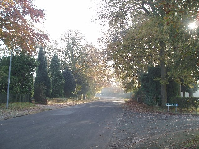 Legh Road (Lovat drive on right)