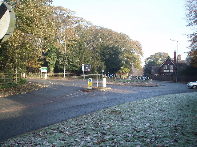 Booths Hall Roundabout