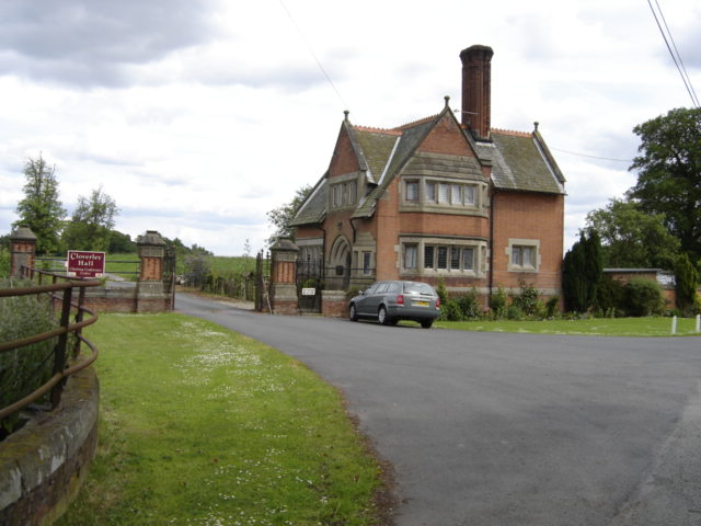 Cloverley Hall Entrance House
