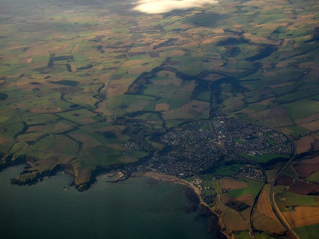 Aerial Photograph over Stonehaven and Cowie