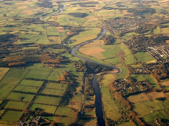 Aerial Photograph over Milltimber, SE Aberdeen