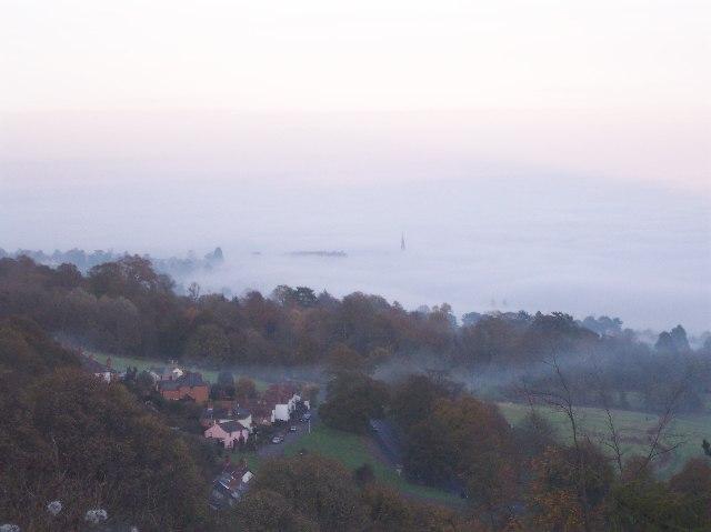 Malvern in the Mist